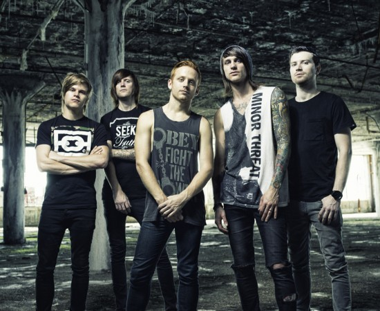 BLESSTHEFALL with Silverstein – The Amity Affliction – Secrets – Heartist