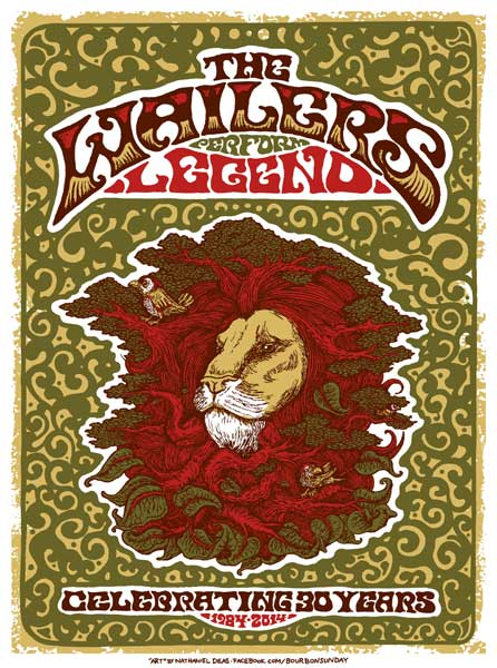 "THE WAILERS – 30th Anniversary of ""Legend"" Tour"