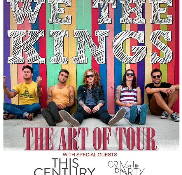 WE THE KINGS with This Century & Crash The Party
