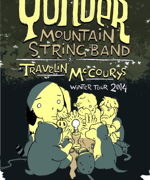 YMSB *Rescheduled* / Travlin' McCoury's Perform @ 9pm!