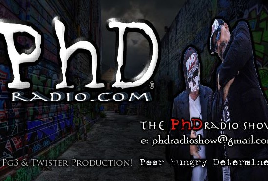 PhD RADIO.COM's 1 Year BIRTHDAY BASH