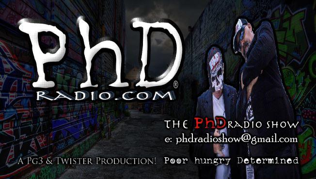 PhD RADIO.COM's 1 Year BIRTHDAY BASH
