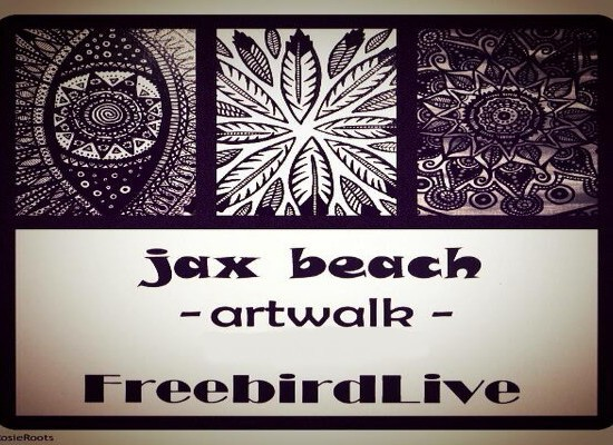 JAX BEACH ART WALK with JAY PEELE