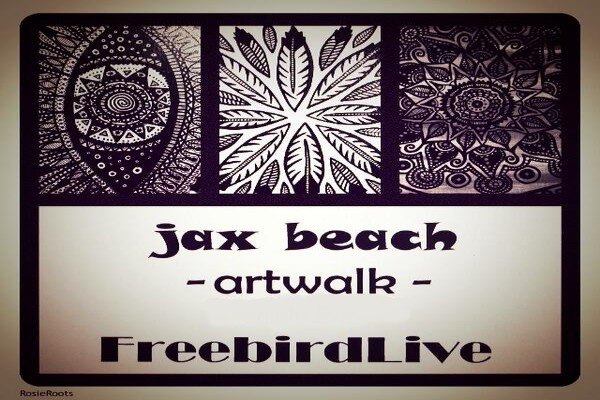 JAX BEACH ART WALK with Tropic of Cancer – Riverside Tuba Quartet