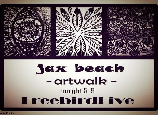 JAX BEACH ART WALK with BRENT BYRD