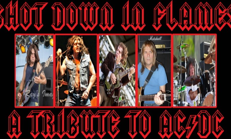 SHOT DOWN IN FLAMES (AC/DC Tribute) with The Found