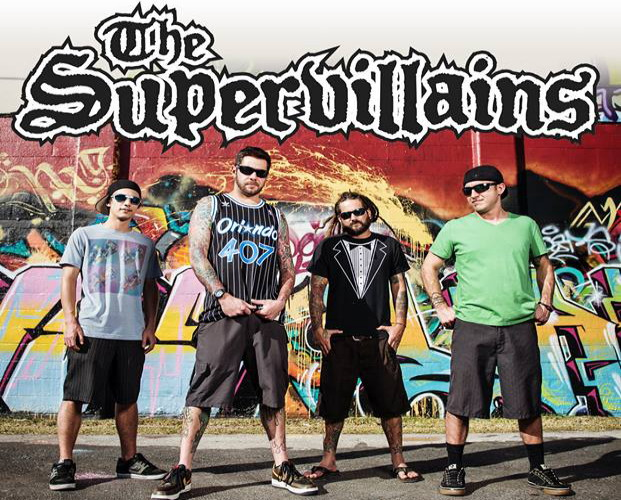 THE SUPERVILLAINS with Prideless – Prime Trees – Sunspots