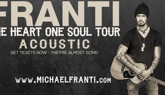 MICHAEL FRANTI  *** CANCELLED ***
