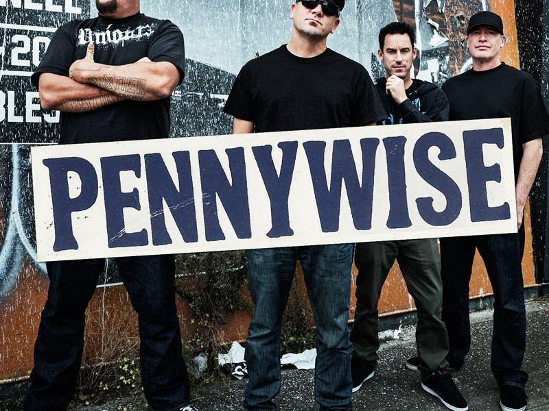 PENNYWISE with Anti-Flag – A Wilhelm Scream – Flag On Fire