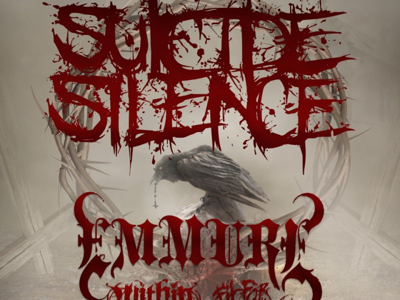 SUICIDE SILENCE with EMMURE – Within The Ruins – Fit For An Autopsy – Silence – The Myridian Rift