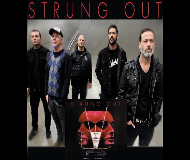 STRUNG OUT with Red City Radio – La Armada – Flag On Fire