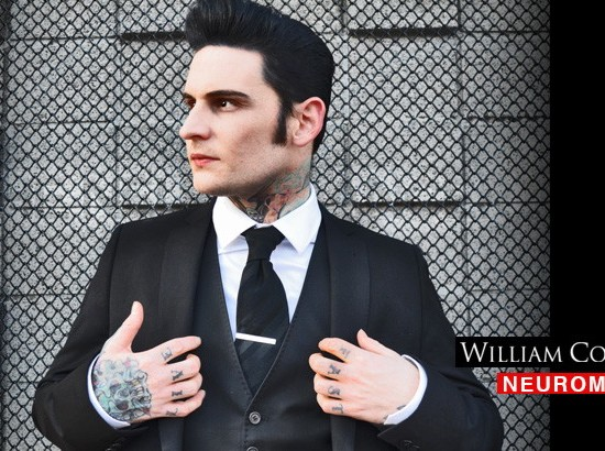 WILLIAM CONTROL and The Neuromantic Boys with Requiem – Justin Symbol – Burnt Hair