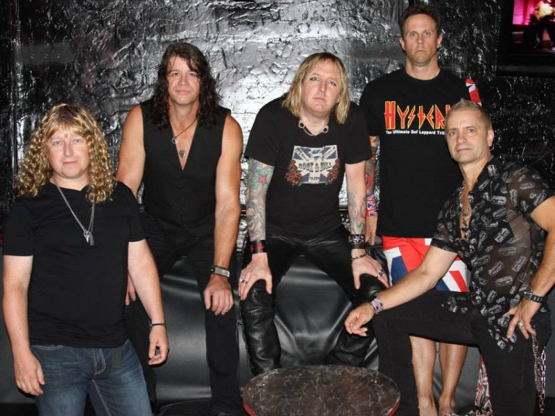 HYSTERIA (the DEF LEPPARD tribute) with Automatik Fit – DamnEdged