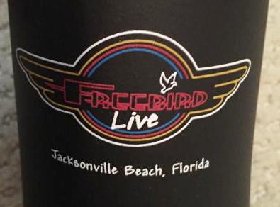 Freebird Live Logo Koozie – $5