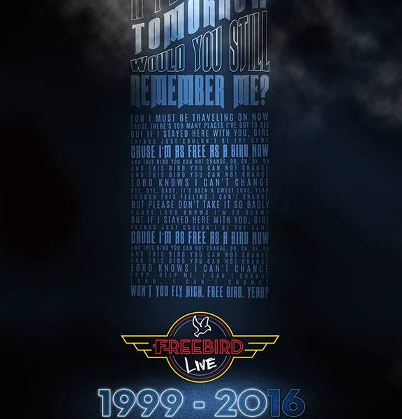Freebird Live Commemorative Poster – $15